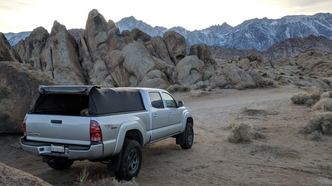 softopper camping toyota tacoma