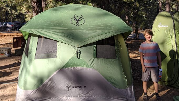gazelle tent review